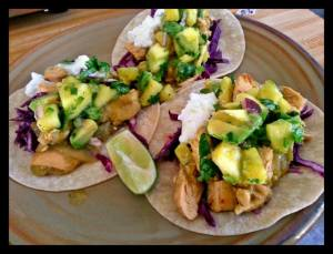 Slow Cooked Verde Chicken with Pineapple Salsa